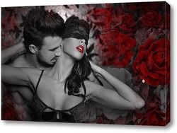 Постер Объятия страсти