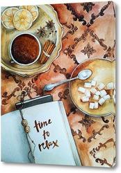 Картина Кофейный натюрморт