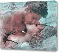 Постер Поцелуй...