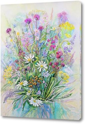 Постер Полевые цветы