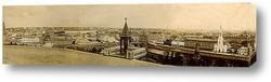 Картина Панорама старой Москвы