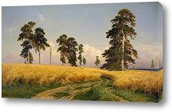 Постер Невярно е на пшеница