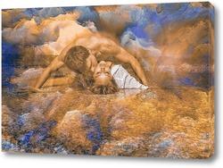 Постер Парень с девушкой