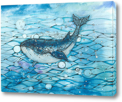Картина Синий кит