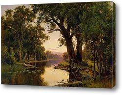 Постер Устието на река в Goulbern.Viktoriya