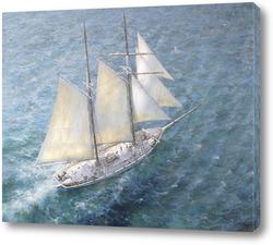 Постер Лазурное море