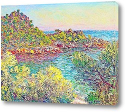 Картина Пейзаж близо Montecarlo