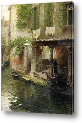 Постер венециански канал