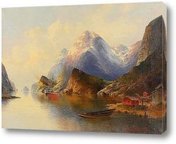 Постер Живопис от 19-20 векове , пейзаж