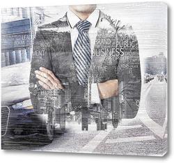 Постер Бизнес-карта