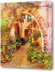 Постер Испанские улочки