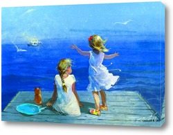 Картина Мечты о море