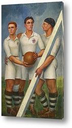 Картина Три игрока
