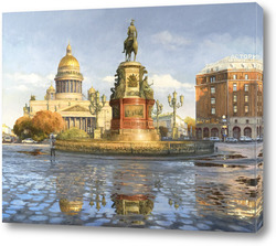 Постер Исакиевская площадь