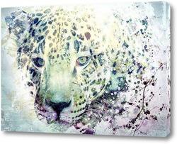 Постер Леопард. Арт
