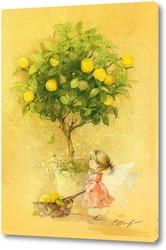 Картина Лимонная фея