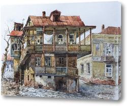 Постер Старый дом в Тбилиси