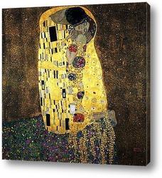 Картина Kiss . 1908