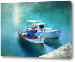Картина Кораблики. Родос