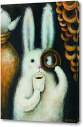 Постер Заяц с баранкой