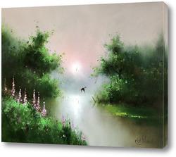 Картина Летний закат