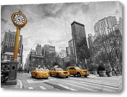 Постер Taxi. New York