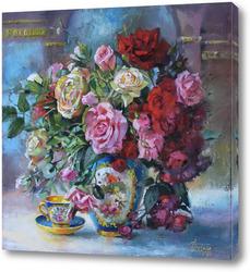 Картина Нежный аромат роз