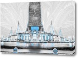 Постер Пумипона шоссе мост Сумерки
