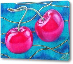 Картина Роскошная вишня.