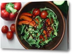 Постер овощи