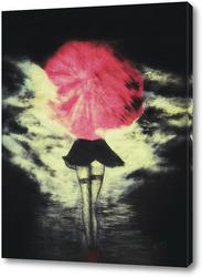 Постер Погода для зонта