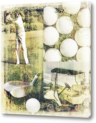 Постер Гольф на природе
