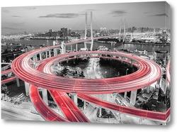 Постер Мост Нанпу. Китай