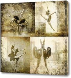 Постер Балерины. Сепия