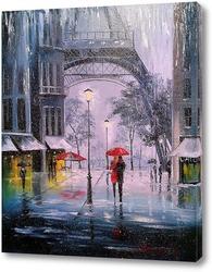 Первый снег в Париже
