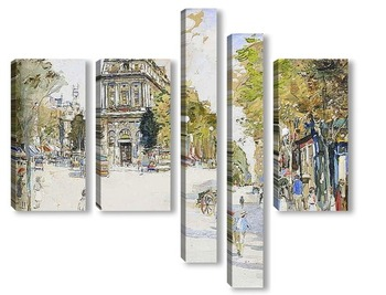 Модульная картина Boulevard Saint -Martin , Париж