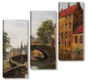 Модульная картина Вижте Brugge