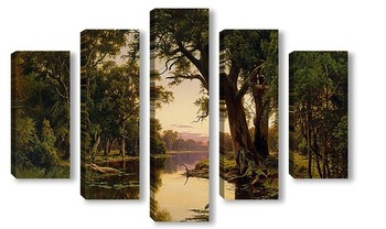 Модульная картина Устието на река в Goulbern.Viktoriya