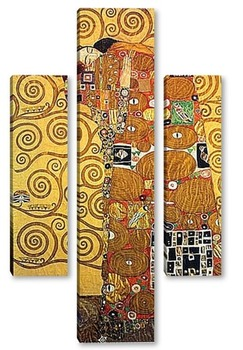 Модульная картина Klimt-3