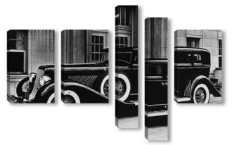 Модульная картина Ретро машина 1934 г.