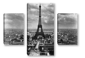 Модульная картина Преглед на Световния панаир на Сена