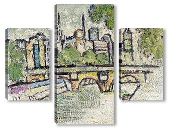 Модульная картина Сена