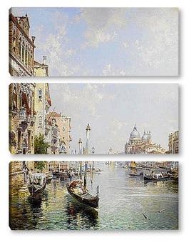 Модульная картина Grand Canal , Венеция