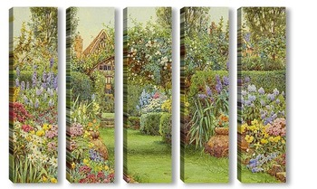 Модульная картина Garden
