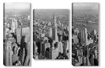 Модульная картина New York 1932