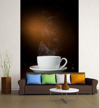 Фотообои чаша за кафе