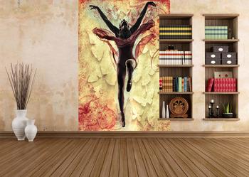 Фотообои Танцующая балерина