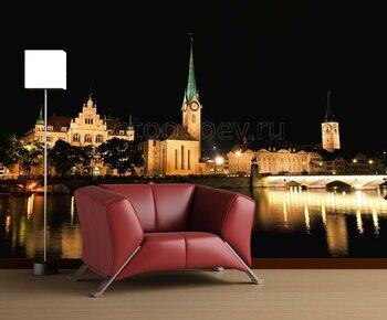 Фотообои Цюрих Швейцария