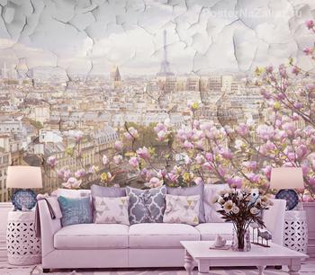 Фотообои Цветущий Париж