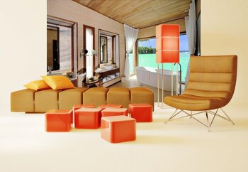 Фотообои Luxury room